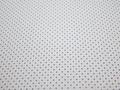 Рубашечная белая синяя ткань геометрия хлопок эластан ЕА344