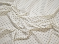 Рубашечная белая синяя ткань геометрия хлопок ЕА347
