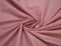 Рубашечная красная белая ткань геометрия хлопок эластан ЕА381