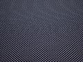 Рубашечная синяя белая ткань геометрия хлопок ЕА3104