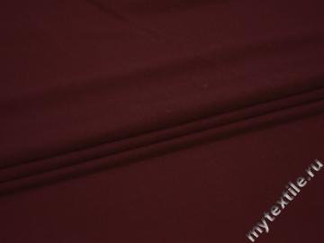 Сетка-стрейч бордового цвета полиэстер БД26