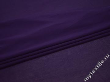 Сетка-стрейч фиолетового цвета вискоза БД226