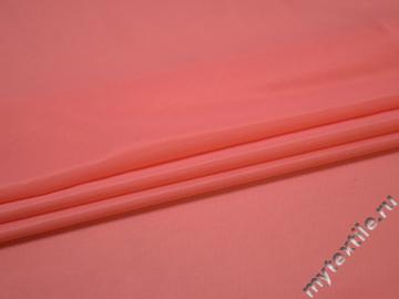 Сетка-стрейч персиковая полиэстер БД23