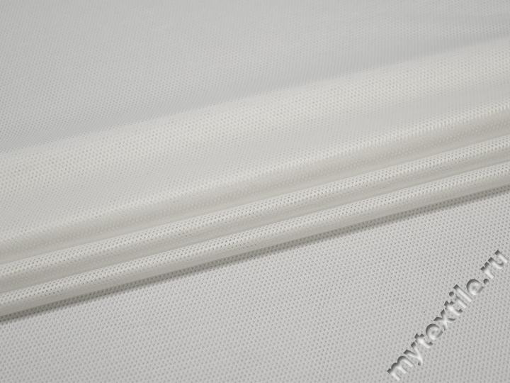 Сетка-стрейч подкладочная белая БГ551