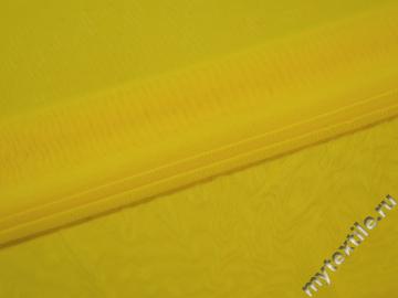 Сетка-стрейч желтого цвета полиэстер БГ536