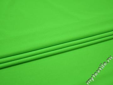 Бифлекс матовый неоново-салатового цвета АК237
