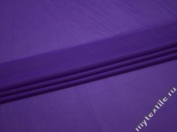 Сетка-стрейч подкладочная фиолетовая БД318