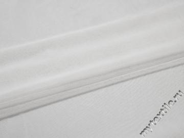Сетка-стрейч белого цвета полиэстер БД332