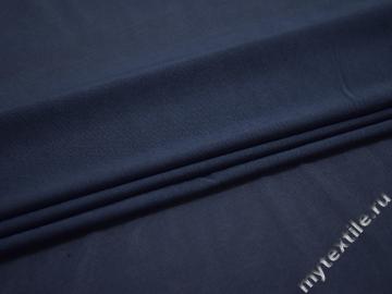 Сетка-стрейч синего цвета полиэстер БД342