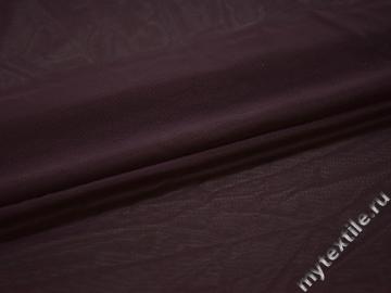 Сетка-стрейч фиолетового цвета полиэстер БД349