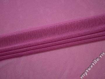 Сетка-стрейч малинового цвета полиэстер БД3101