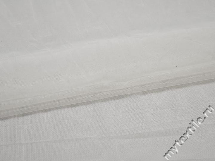 Сетка-стрейч подкладочная белая БД450
