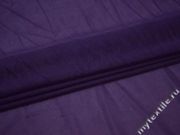 Сетка-стрейч подкладочная фиолетовая БД438