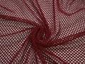 Сетка-стрейч бордового цвета БД429