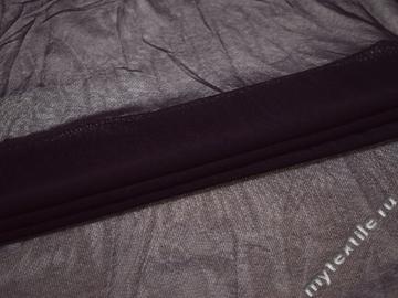 Сетка-стрейч фиолетового цвета БД484