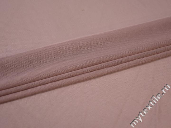 Сетка-стрейч подкладочная пудровая БД530