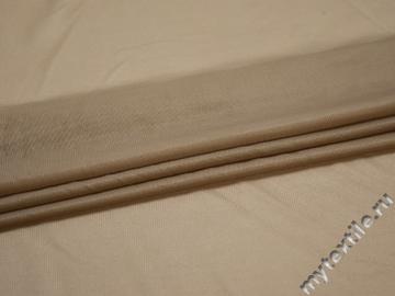 Сетка-стрейч подкладочная бежевая БД527