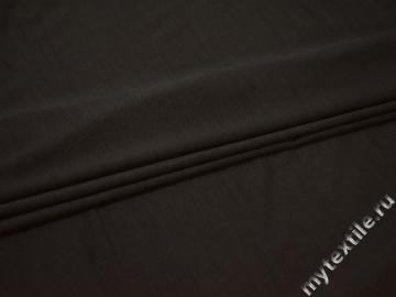 Сетка-стрейч темно-коричневого цвета вискоза БД562