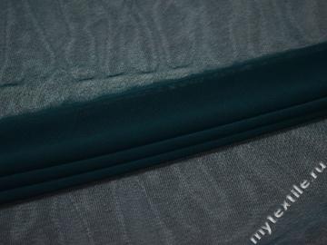 Сетка-стрейч синего цвета полиэстер БД517