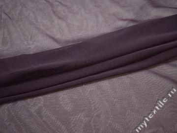 Сетка-стрейч фиолетового цвета полиэстер БД552