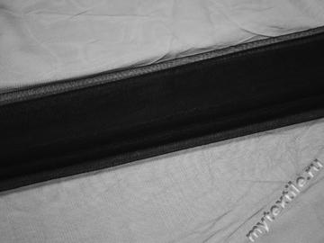 Сетка средняя черного цвета БЕ491