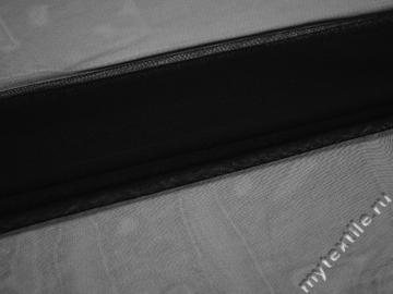Сетка мягкая черного цвета БЕ410