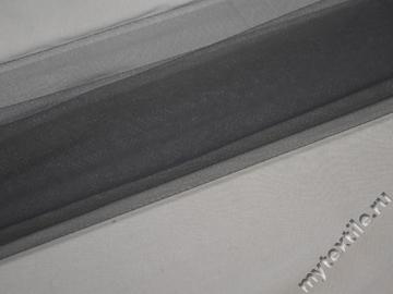 Сетка мягкая серого цвета БЕ423