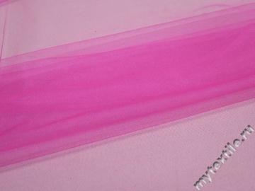 Сетка мягкая розового цвета БЕ443