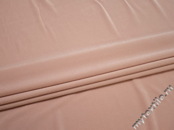 Бифлекс блестящий бежево-розового цвета АК353