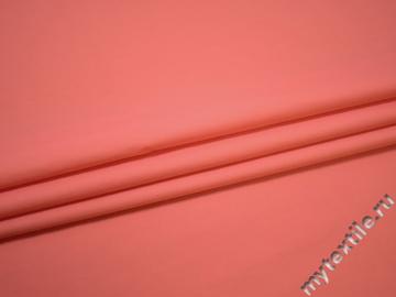 Рубашечная коралловая ткань хлопок полиэстер БГ261