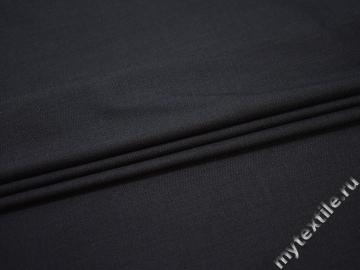 Костюмная синяя ткань вискоза полиэстер ЕВ155