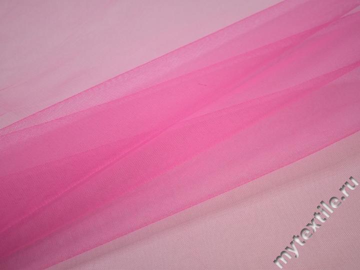 Сетка жесткая розового цвета БЕ511