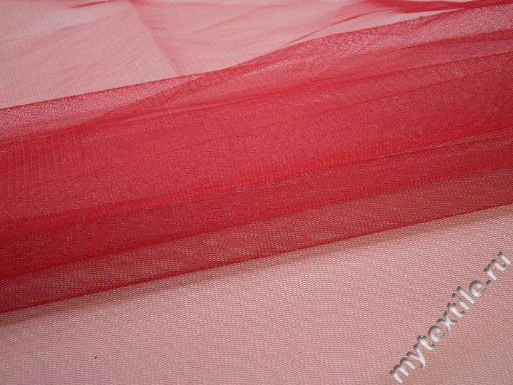Сетка жесткая красного цвета БЕ530