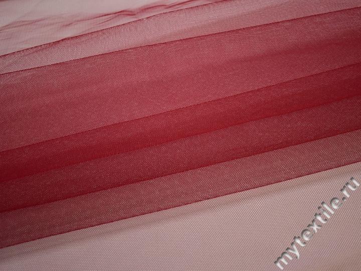 Сетка жесткая красного цвета БЕ515