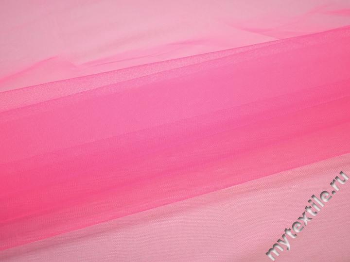 Сетка жесткая розового цвета БЕ56