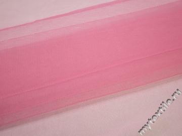 Сетка жесткая розового цвета БЕ52