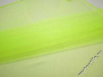 Сетка жесткая салатового цвета БЕ59