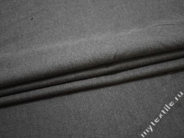 Костюмная серая ткань хлопок ЕБ140