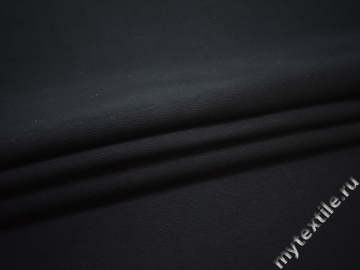 Костюмная синяя ткань хлопок ЕБ134