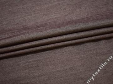 Плащевая коричневая ткань хлопок полиэстер ЕБ116