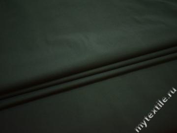 Костюмная изумрудная ткань полиэстер эластан ЕБ119
