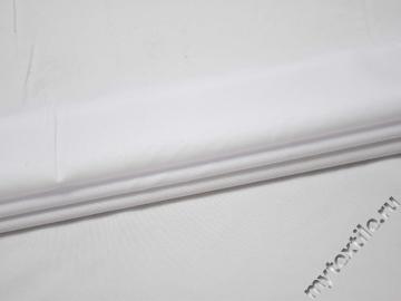 Габардин белый полиэстер ВБ365