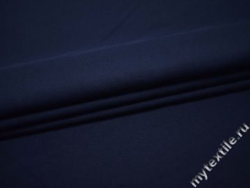 Габардин тёмно-синий полиэстер ВБ364