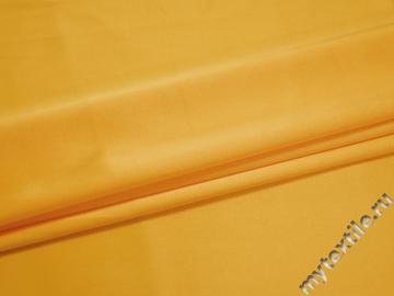 Атлас желтый полиэстер ЕА3147