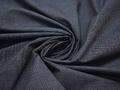 Хлопок синий геометрический узор ЕА261