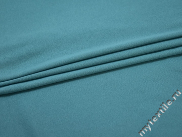 Трикотаж голубой хлопок АЕ331