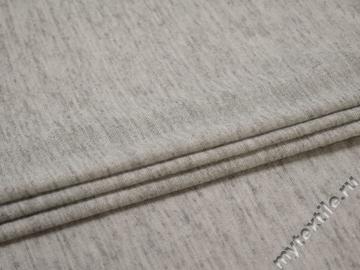 Трикотаж серый вискоза полиэстер АЕ319