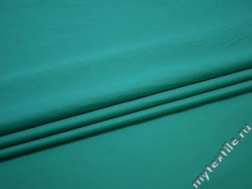Рубашечная бирюзовая ткань вискоза полиэстер БА799