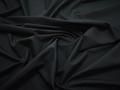 Плательная черная ткань шёлк полиэстер БА7106