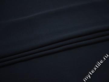 Плательная синяя ткань вискоза БА7101